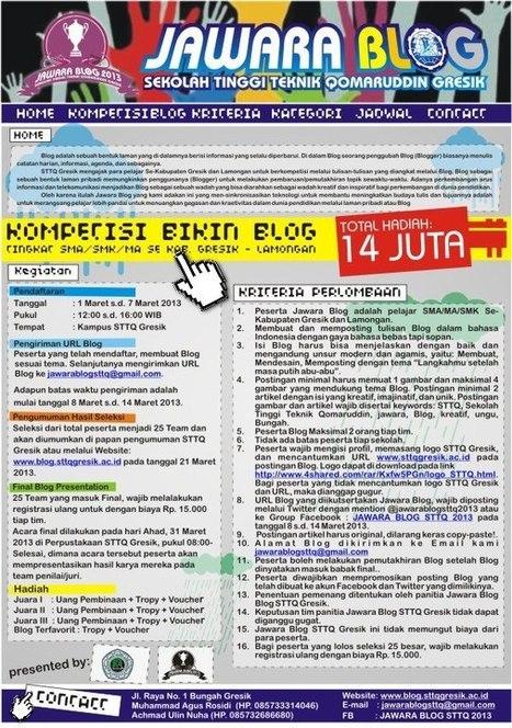 Lomba Blog: Jawara Blog STTQ 2013 | Android APK Download | Scoop.it