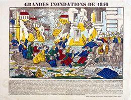 Grandes inondations de 1856 - L'Histoire par l'image | GenealoNet | Scoop.it
