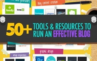 50+ Awesome Tools I Use To Run An Effective Blog | Methods to work Collaboratively Online | Scoop.it