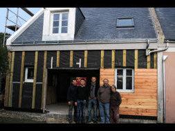 Une maison en bois et carton visitable à Belle-Ile-en-Mer ! | Green Habitat | Scoop.it