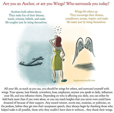 Are you an Anchor or are you Wings? Who surrounds you today? | Indigenous Spirituality | Scoop.it