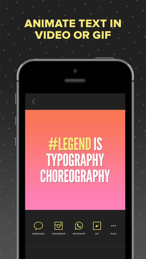 Legend - Animate Text in Video & GIF (Photography) - Zbynek Kysela | Instagram Tips and Tricks | Scoop.it