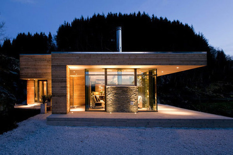 Practical Cabin GJ-9 Concept, Adaptable to Various Natural Settings | sustainable architecture | Scoop.it