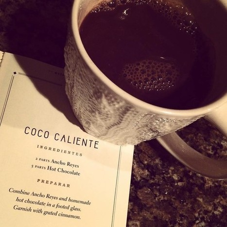 Booze News:  Remember this adult hot chocolate recipe when the weather's 'chili' | GuideLive | The Chic Chocolate Curator | Scoop.it