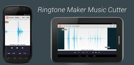 Ringtone Maker & Music Cutter - Applications Android sur GooglePlay | Android Apps | Scoop.it