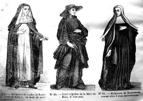 Costumes religieux partie 2   GenealoNet   Scoop.it