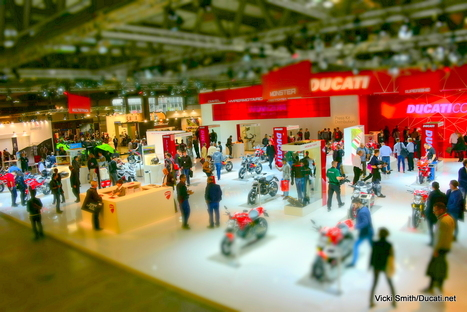 EICMA Motorcycle Show 2015 - gallery one, Ducati stand | Ductalk Ducati News | Scoop.it