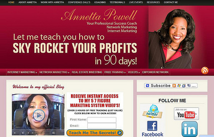 Promote4you: Annetta Powell Your Professional Success Coach | Promote4you | Scoop.it