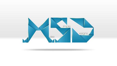 Abstract geometric text - photoshop tutorial | Web Design & Development | Scoop.it