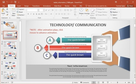 Powerpoint presentations and ppt templates scoop animated tablet powerpoint template toneelgroepblik Images