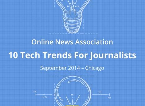 Journalisme web : 10 tendances pour 2015 | MoJo (Mobile Journalisme) | Scoop.it