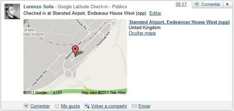 Google añade Check-In & Out a Latitude | VIM | Scoop.it