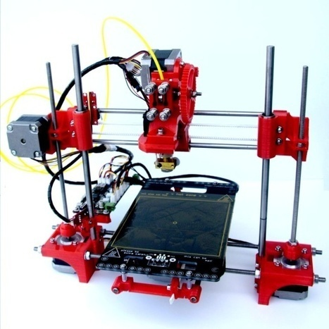 Portabee 3D printer can fit into a laptop bag | BarFabLab | Scoop.it