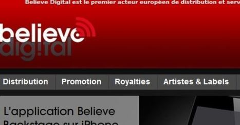 Believe Digital s'implante aux Etats-Unis - Le Monde | Musique et Innovation | Scoop.it