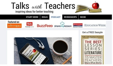 Top 36 Educational Podcasts for Teachers via @medkh9 | Moodle and Web 2.0 | Scoop.it