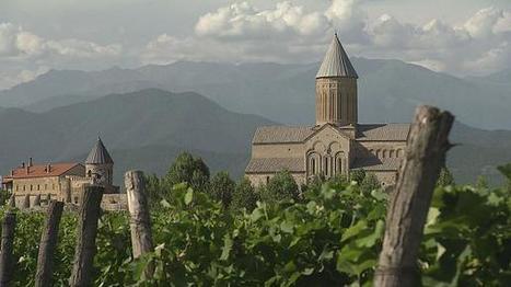 La Kakhétie en Géorgie, berceau du vin - euronews   Le Vin en Grand - Vivez en Grand ! www.vinengrand.com   Scoop.it