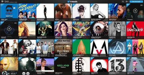 Now Playing: Twitter #Music Launched | Social Media Useful Info | Scoop.it