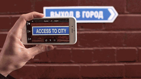 Google's Translate App Can Now Use Your Camera to Translate the World in Real Time | MobilePhones | Scoop.it