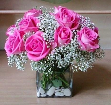 Karangan Bunga Ulang Tahun Yang Romantis Flor