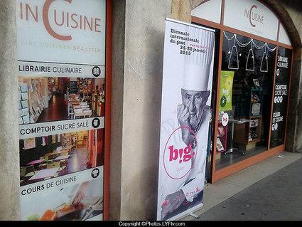 InCuisine, une librairie culinaire place Bellecour à Lyon | LYFtv-Photos | LYFtv - Lyon | Scoop.it