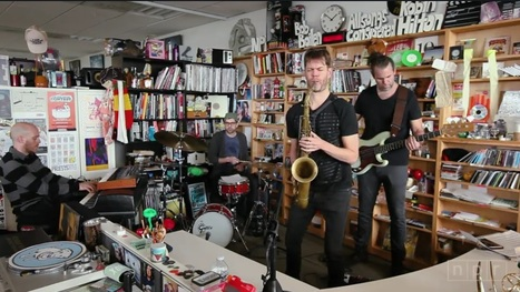 Donny McCaslin: Tiny Desk Concert | B-B-B-Bowie | Scoop.it