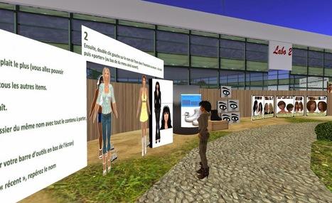 Collectif L'i3Dim: TUTORIEL D'ACCES | Mondes Virtuels & Education | Scoop.it