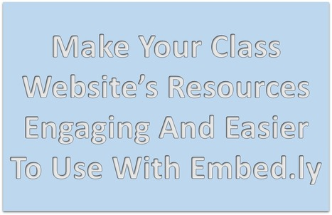 Class Website Resources Engaging & Easier To Use | MyWeb4Ed | MyWeb4Ed | Scoop.it