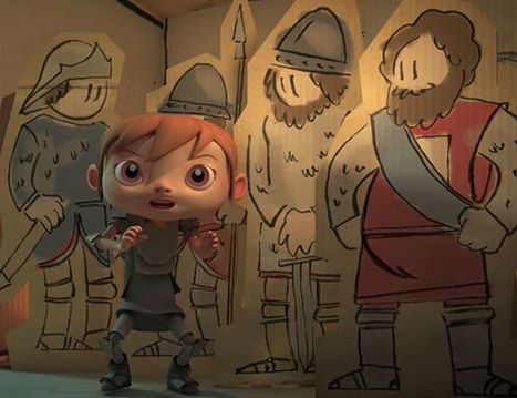Jeanne d'Arc aide le roi - Notre Histoire | FLE enfants | Scoop.it