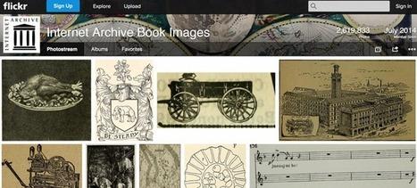 Internet Archive va publier 14 millions d'images réutilisables sur Flickr - Archimag | Cartes historiques et cartes d'Histoire | Scoop.it