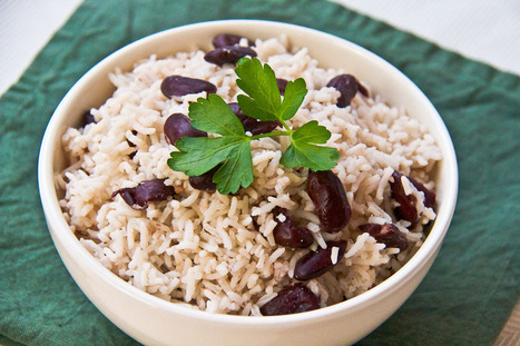 Jamaican Style Rice & Peas - Lovely Pantry | Lovely Pantry | Food for Foodies | Scoop.it