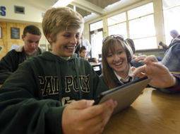 Students: iPads make math exciting | iPad Implementation at PLC | Scoop.it