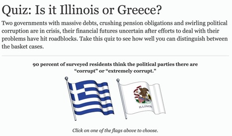 Quiz: Is it Illinois or Greece? | Illinois Legislative Affairs | Scoop.it