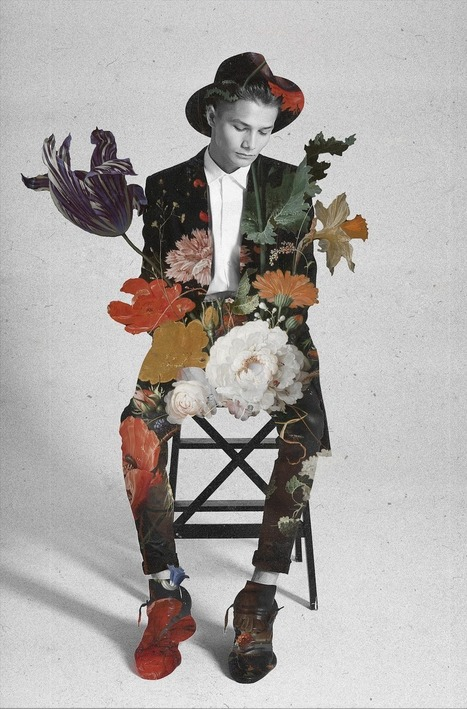 Jenya Vyguzov: Stunning and Poetic Fashion Collages   photography art   Scoop.it