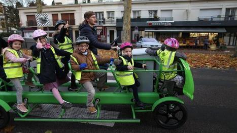 Des écoliers normands testent le premier vélo-bus écolo | Centre des Jeunes Dirigeants Belgique | Scoop.it
