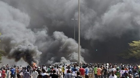 Burkina Faso parliament set ablaze | African News Agency | Scoop.it