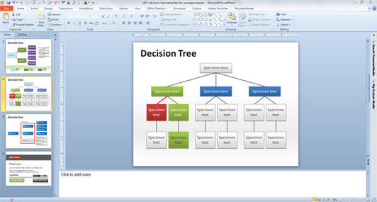Decision Tree Template For Powerpoint Free Bu