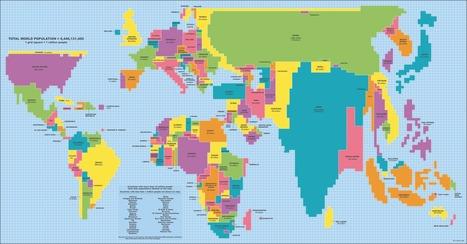 Total World Population   digital divide information   Scoop.it
