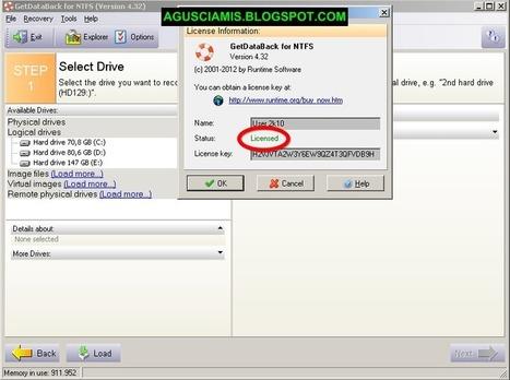 Getdataback Simple 1.02 Serial Number