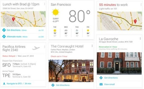 Travopia: Google Now - The Revolution In Travel Industry Has Just Begun, In Google's Style | Stretching our comfort zone | Scoop.it