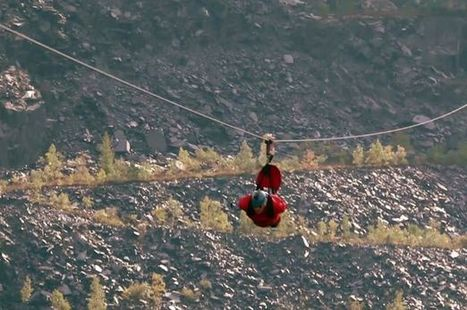 Welsh Tourism Minister to take to world's longest zip wire to kick-start year ... - Daily Post North Wales | The Biggest in the World | Scoop.it