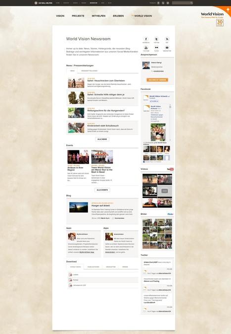 World Vision Newsroom - World Vision Schweiz   Social Media Newsrooms   Scoop.it