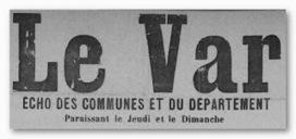 Le Var numérisé sur le site de la bibliothèque municipale de Fréjus   Auprès de nos Racines - Généalogie   Scoop.it
