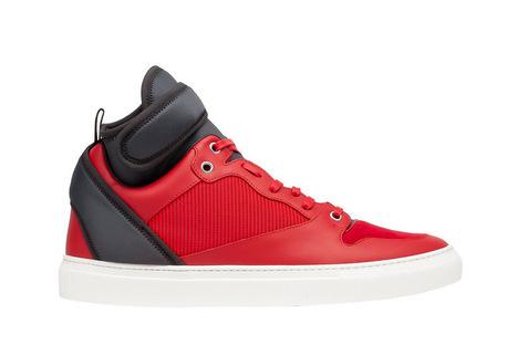 Balenciaga Introduces Its Multimaterial Neoprene High Sneaker