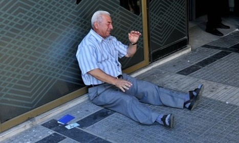 Myth Of The Self-Inflicted Wound: A Deeper Look At That Photo Of The Crying Greek Pensioner | Photography Now | Scoop.it