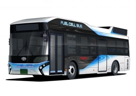 Toyota to launch fuel-cell buses next year for Olympics | All About Cars. | Scoop.it