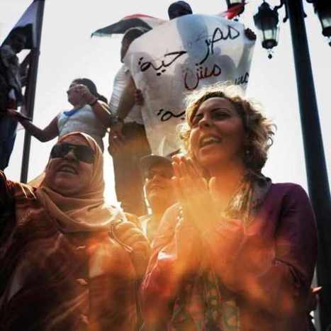 Egyptian women and therevolution - Blog - The Arabist   Middle East Politics   Scoop.it