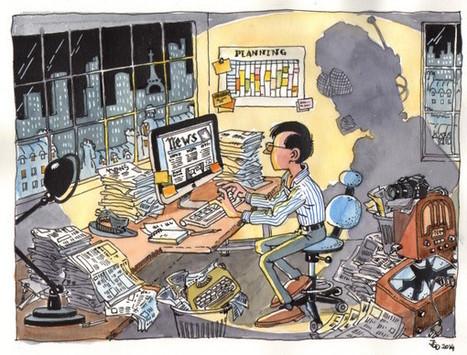 Logiciels, algorithmes, robots : journalisme sous influence   Ecrire Web   Scoop.it