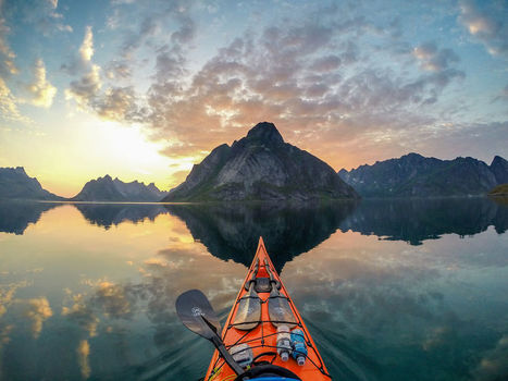 The #Zen Of #Kayaking: #Photograph #Fjords Of #Norway From a #Kayak Seat | Design Ideas | Scoop.it
