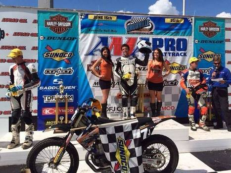 Congratulations to Kyle Johnson on his Pro Singles main event victory at Knoxvil... | California Flat Track Association (CFTA) | Scoop.it