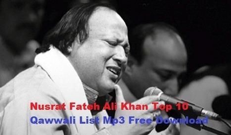 free download qawwali of nusrat fateh ali khan mp3